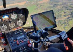 Let vrtulníkem, zážitek trochu jinak